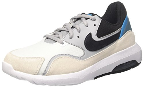 Nike Men's Air Max Nostalgic Running Shoes, Green, 10 UK Off White (Whiteblackwolf Greynoise Aq 100)