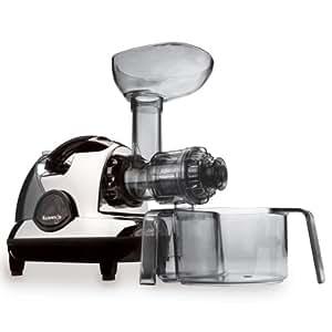 Kuvings BPA-Free NJE-3570U Masticating Slow Juicer, Chrome
