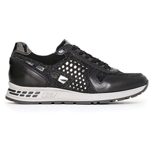 Giardini basses Noir femme Nero Sneakers OxdzR77