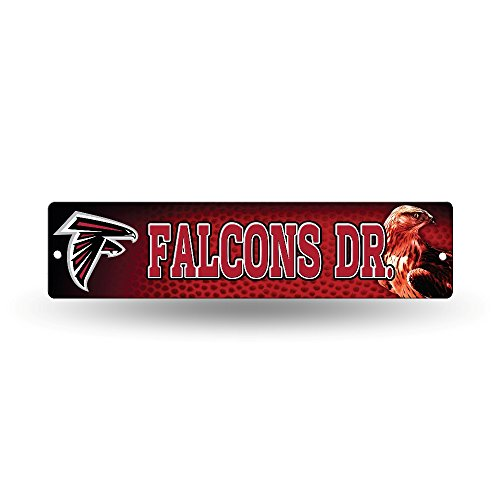 NFL Atlanta Falcons High-Res Plastic Street Sign