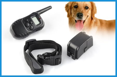 ATC LCD REMOTE DOG TRAINING COLLAR PET SHOCK VIBRATE COLLAR
