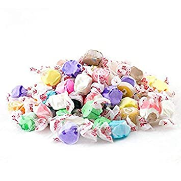 Assorted Salt Water Taffy, Assorted Flavors (Pack of 2 Pounds)