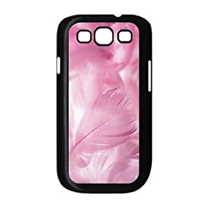 Diy Colorful Feather Phone Case for samsung galaxy s3 Black Shell Phone JFLIFE(TM) [Pattern-2] hjbrhga1544