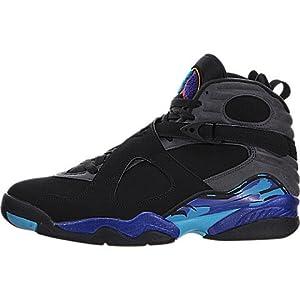 Air Jordan Mens Retro VIII Aqua 8 Basketball Shoes (12)