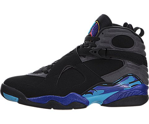 buy online 7fda5 a734c Air Jordan Mens Retro VIII Aqua 8 Basketball Shoes (12)