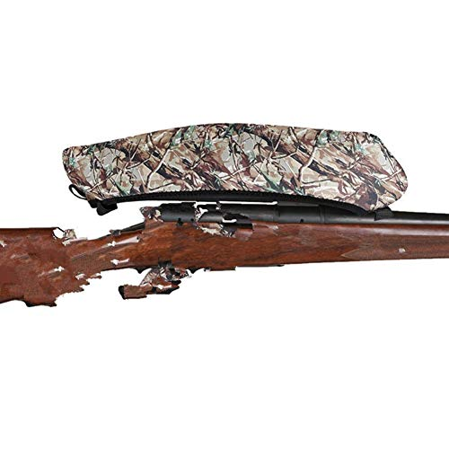Gun Slip Air Rifle (Rifle/Air Gun Scope Protector Cover, Waterproof Anti Scratch Telescope Cover Bag Airgun Slip Case Cover for Shooting Hunting (Camouflage))