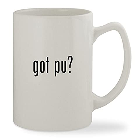got Pu? - 14oz White Statesman Sturdy Ceramic Coffee Cup Mug (Mosin Nagant Pu Mount)