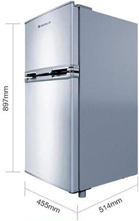 MYYQ Refrigerador de Dos Puertas y Dos Puertas Refrigerador ...