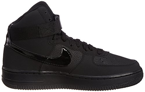 Nike Youth Air Force 1 High Jungen Basketballschuhe Schwarz Schwarz