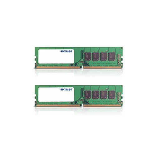 - Patriot Signature Line 8GB (2 x 4GB) 288-pin DDR4 PC4-17000 2133MHz Memory Module Kit PSD48G2133K