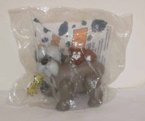 Vintage Disney 101 Dalmatians McDonalds Happy Meal Toy ~ The Colonel and Sergeant Tibs ()
