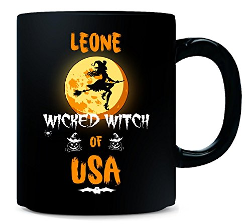 Leone Wicked Witch Of Usa. Halloween Gift - Mug]()