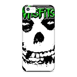 New Style ClaytonWilner Green Misfits Premium Covers Cases For Iphone 5c