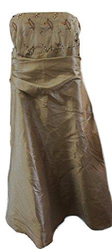 Sixth SenceDamen Kleid, Einfarbig Gold Gold