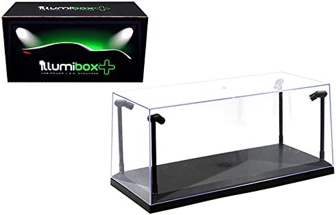 Illumibox MJ14001 Showcase 1: 18 x+ USB Powered Led Black Base Display Clear / Illumibox MJ14001 Showcase 1: 18 x+ USB Powered Led Black Base Display Clear