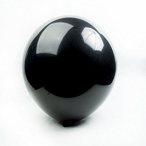 Tuf-Tex Black Round Balloons - 24