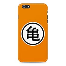 Dragon Ball Z Master Roshi Kanji Symbol Hard Plastic Snap-On Case Cover For iPhone 6 / iPhone 6s