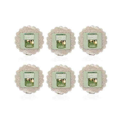 - Yankee Candle Lot of 6 Holiday Bayberry Tarts Wax Melts