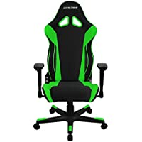DXRacer OH/RW106/NE Black & Green Racing Series Gaming Chair