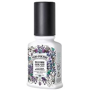 Poo-Pourri Bathroom Toilet Odor Neutralizer Spray Lavender Peppermint (2 oz)