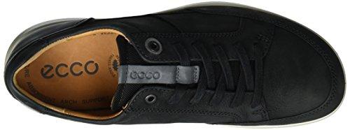 Ecco Mens Iowa Neo Fashion Sneaker Nero / Titanio