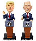 Presidential Gifts Special Edition Donald J. Trump & Mike Pence Bobblehead 2-Pack