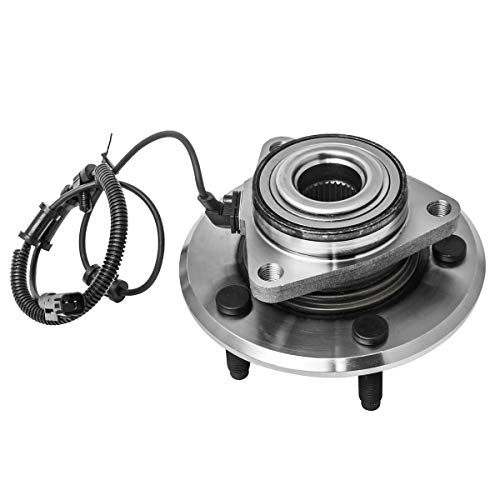 Front Wheel Hub and Bearing Assembly Left or Right Compatible 2009-2010 Dodge Ram 1500 2011 Ram 1500 AUQDD 515126 [ 5 Lug W/ABS ]