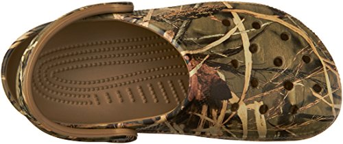 Pictures of Crocs Men's and Women's Classic Realtree Clog  | Comfort Slip On Camo Casual Shoe | Lightweight 2