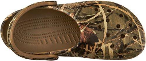 crocs Men's Classic Realtree Clog,Khaki,4 M US