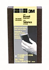 3M(TM) Drywall Sanding Sponge is ideal for sanding drywall and plaster during spot repair. Two sanding grades on one sponge in a fine/medium combination. The sponge can be rinsed and reused. WARNING: This product can expose you to chemicals w...