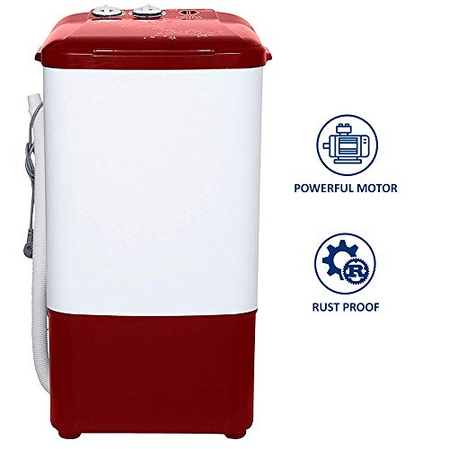 Onida 6.5 kg Washer Only (WS65WLPT1LR Liliput, Lava Red) 41jQ1E74%2BPL India 2021