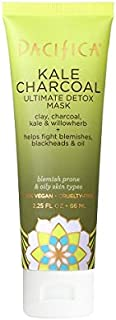 product image for Pacifica Kale Charcoal Ultimate Detox Face Mask, For All Skin Types, Vegan & Cruelty Free, 2.25 Fl Oz