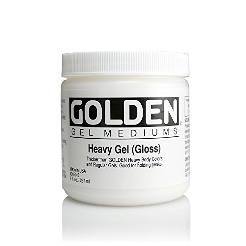 Heavy Gel - Golden Artist Colors - Heavy Gel Gloss - 8 oz Jar