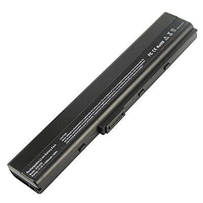 Futurebatt Laptop Battery for Asus A32-k52 A31-k52 A41-k52 A42-k52 A31-b53 K52l681, A52 A52f A52j K42 K42j K52 A42 Series X42 Series [10.8v 5200mah 6-cell] Notebook Battery by Futurebatt