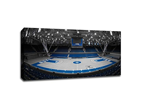 - Duke Blue - College Basketball Touch of Color - 40x22 Gallery Wrapped Canvas Wall Art ToC