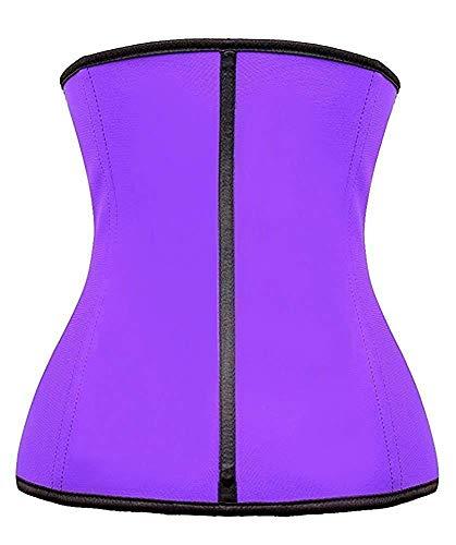 0be06b9b114 ... YIANNA Womens Underbust Latex Sport Girdle Waist Trainer Corset  Hourglass Body Shaper ...
