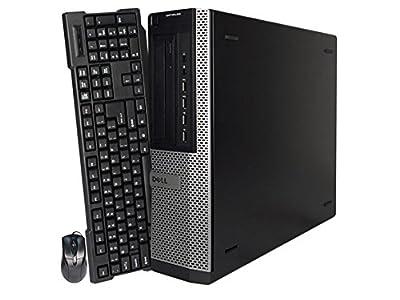 2017 Dell Optiplex 7010 High Performance Premium Flagship Business Desktop - Intel Quad-Core i5-3470 Up to 3.6GHz, 8GB DDR3 RAM, 240 SSD, DVD-ROM, USB 3.0, Windows 10 Pro (Certified Refurbished)