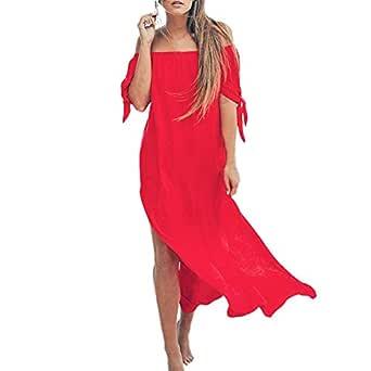 Dorical Vestido Verano Nueva Simple Casual Sexy Vintage Slim Fit ...