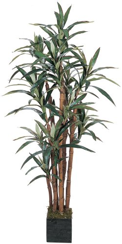Nearly Natural 5006 Yucca Silk Tree, 5-Feet, Green by Nearly Natural