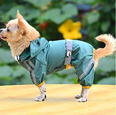 AYWJ Mascota Cachorro Cachorro De Perro Chaqueta Impermeable ...
