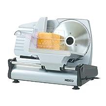 Nesco FS-200 Food Slicer, 180-watt, Silver