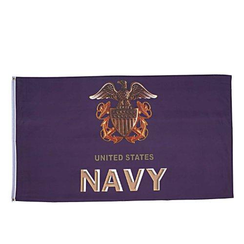 Rothco Military Flag - US Navy Anchor, 3X5 Feet By Rothco RC