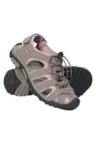 Mountain Warehouse Trek Womens Shandal Beach Shoes - Hiking Sandals Pink Womens Shoe Size 6 ()