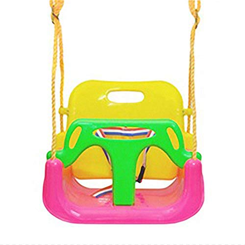 Garyone Infants/Kids/Children Swing seat,3-in-1 Toddler Swing Seat, Detachable Outdoor Toddlers Children Hanging Seat