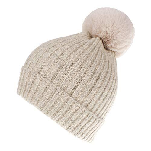 789c90dcd55608 Jual Women Winter Knit-Beanie-Hats with Pom - | Weshop Indonesia