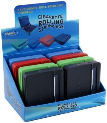 Atomic liadora + tabacchiera para liar corta caja de 8 unidades): Amazon.es: Salud y cuidado personal