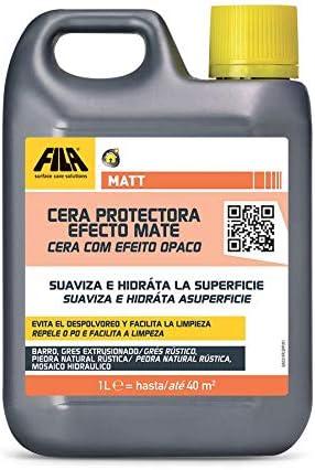 Matt, Cera Protectora Con Efecto Natural Mate Ideal Para Barro Gres Extrusionado Piedra Y Terrazo No Pulidos Toba Resina, 1L