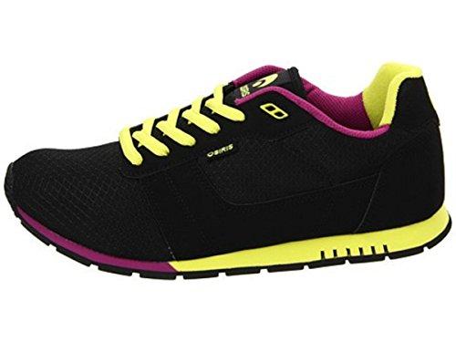 Osiris Skate Shoes-- Retron-- Black/Lime/Purple oGvn8E