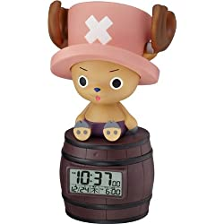 Japan Original! ONE Piece Character Alarm Clock! Tony Tony Chopper Chattering·feeling of Person Sensor Function Deployment 8rda51rh06