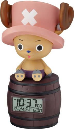 Japan Original! ONE Piece Character Alarm Clock! Tony Tony Chopper Chattering·feeling of Person Sensor Function Deployment (Watch Onepiece Online)